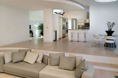Sunken living room remodel modern spaces sunken living room design pictures remodel decor and ideas page 2 home decorations collections flooring Living Room Interior, Living Room Decor, Living Room Designs, Living Spaces, Living Rooms, Kitchen Living, Living Area, Sunken Living Room, Lounge Design