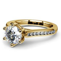 We'd like to inspire your wedding thoughts with the Six Prong Channel Diamond Ring in Yellow Gold!    http://www.brilliance.com/engagement-rings/six-prong-channel-diamond-ring-yellow-gold    Are any of you going to a spring wedding soon? Are you one of those who would love to be proposed to at a spring wedding celebration? :)
