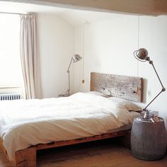 the minimalistic bedroom neutral palette brown white wood natural