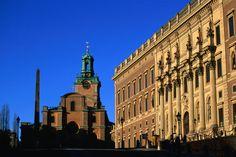 Storkyrkan and Kungliga Slottet, Stockholm