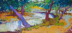 Por amor al arte: Angus Wilson Watercolor Effects, Watercolour, Wilson Art, Landscape, Canvas, Flowers, Painting, Inspiration, Amor