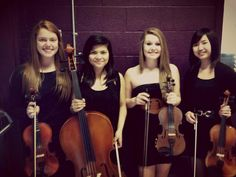 High Strung string quartet! My faves #stringquartet #violin #cello #ensemble
