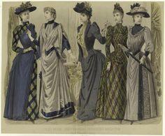 Fashion plate, 1890 US, Peterson's Magazine