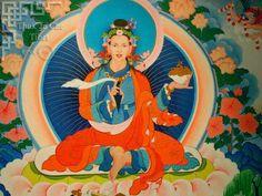 Yeshe Tsogyal, a woman buddha, key in the dissemenation of buddhism throughout Tibet and consort of guru rinpoche