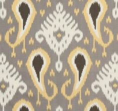 Dwell Ikat Curtain Panels - Pick your color - Pair 84-88 - FREE SHIPPING. $160.00 USD, via Etsy.