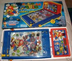 Miniature Pinball Machines - SUPER MARIO 64 PINBALL MACHINE SUPER MARIO VINTAGE COLLECTABLE -- Continue to the product at the image link.