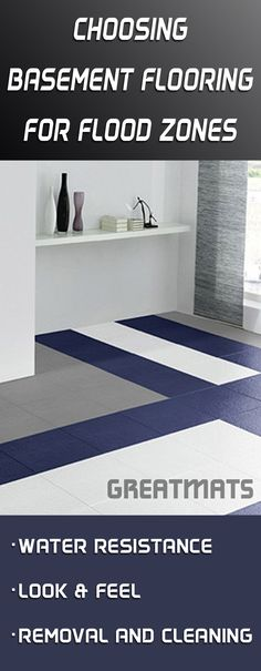 Best Basement Flooring Images On Pinterest In Foam - Best flooring for basement that may flood