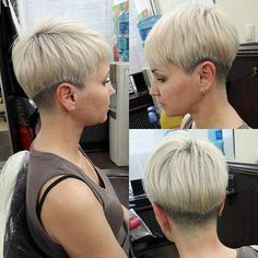 try-these-show-off-short-hairstyles - Fab New Hairstyle 1 Popular Short Hairstyles, Hairstyles Over 50, Pixie Hairstyles, Summer Hairstyles, Pretty Hairstyles, Pixie Haircuts, Hairstyle Ideas, Short Hair Model, Short Hair Cuts
