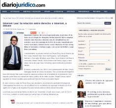 La página web de informació jurídica, Diario Jurídico.com, dedicó un artículo al evento 'Internet Law' en el que participé como ponente para hablar de la recientemente aprobada Estrategia de Ciberseguridad Nacional.