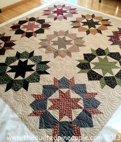Swoon Quilt Reproduction Style - THE QUILTED PINEAPPLE