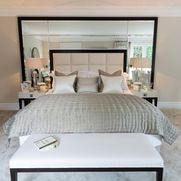 Colorful Guest Room Eclectic Bedroom Other Metro Interiors By Janlee