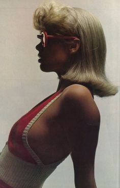 Red Glasses Vogue 1972  - Guy Bourdin