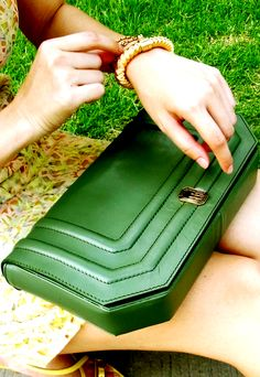 shallow green Shallow, Bag Accessories, Zip Around Wallet, My Style, Green, Bags, Fashion, Purses, Totes