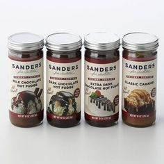 Sanders 4-pk. Dessert Toppings