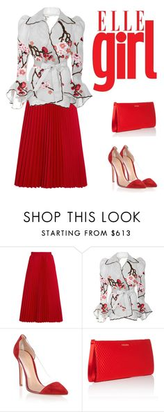 """Untitled #2548"" by carlene-lindsay ❤ liked on Polyvore featuring Balenciaga, Naeem Khan, Gianvito Rossi and ESCADA"