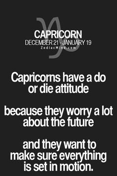 Daily Horoscope - Zodiac Mind Your source for Zodiac Facts Daily Horoscope 2017 Description Fun facts about your sign here Capricorn Quotes, Capricorn Facts, Zodiac Signs Capricorn, Zodiac Mind, Zodiac Facts, Zodiac Quotes, Astrology Signs, Quotes Quotes, Qoutes
