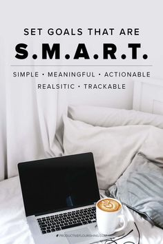 SMART is an acronym that helps you evaluate whether your goals are concrete enough to be useful. Are you setting yourself up for success with smart goals? Writing A Business Plan, Business Goals, Business Entrepreneur, Business Planning, Business Tips, Small Business Solutions, Harvard Business School, Self Improvement Tips, Time Management Tips