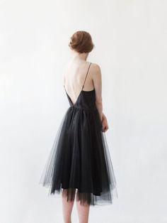 Tulle black dress by Alexandra Grecco. Buy Dress, Dress Me Up, Fancy Dress, Black Tulle Dress, Pretty Outfits, Pretty Dresses, Beautiful Dresses, Estilo Street, Fru Fru