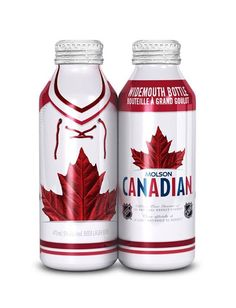 Molson Canadian Beer new cans