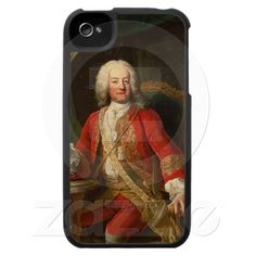 :-)  Count Carl Anton von Harrach iPhone 4 Cases from Zazzle.com