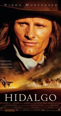 Hidalgo Directed by Joe Johnston. With Viggo Mortensen, Omar Sharif, Zuleikha Robinson, Louise Lombard. In a down-and-out cowboy and his horse travel to Arabia to compete in a deadly cross desert horse race. Viggo Mortensen, Old Movies, Great Movies, Indie Movies, Comedy Movies, See Movie, Movie Tv, Movies Showing, Movies And Tv Shows