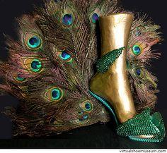 peacock stiletto