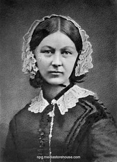 "Florence Nightingale: ""Florence Nightingale, a nurse, spent her night rounds giving personal care to the wounded, establishing her image as the 'Lady with the Lamp.'  http://www.biography.com/people/florence-nightingale-9423539"