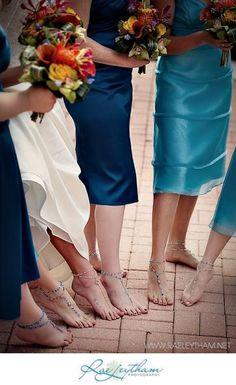DIY foot jewelry!