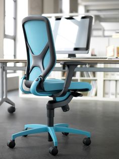 IN office chair | New dimensions of dynamic sitting with our patented 3D kinematics called Trimension ®  | By Wilkhahn | #wilkhahnIN