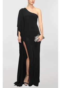 vestido-eve-longo-de-malha-e-fenda-powerlook-preto