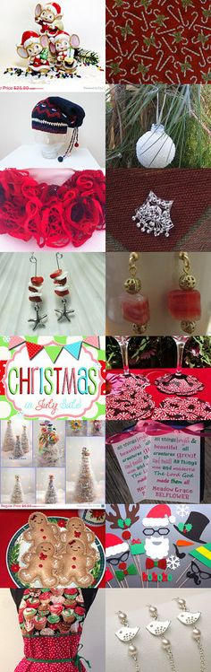 Christmas in July Team by Don Bauman on Etsy--Pinned with TreasuryPin.com