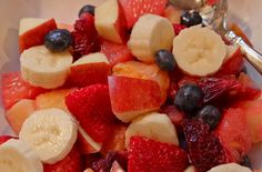 Looking for something beautiful and healthy to offer on your Christmas table? Here'sa simple and really delicious fruit salad to put together. At the last minute for Christmas Eve last year, I whipped this salad together to havesomething lighter than the heavier holiday dishes that we always enjoy . . . and often have regrets...Read More »