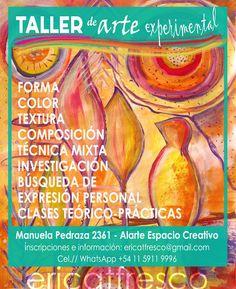 ericatfresco - Artworks & Illustrations : Taller de Arte Experimental en Buenos Aires - Barr...