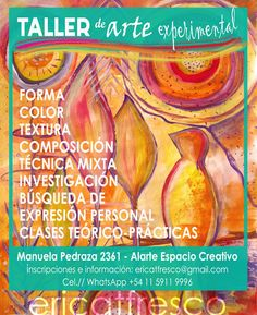 ericatfresco - Artworks & Illustrations : Taller de Arte Experimental en Buenos Aires - Barr...
