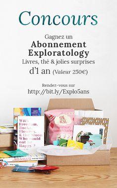 Pour célébrer les 5 ans d'Exploratology, participez à notre #concours pour gagner un abonnement Exploratology d'1 an (valeur 250€). Rendez-vous sur http://bit.ly/Explo5ans pour participer!