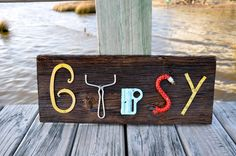 Items similar to Barn board sign typographical rusty letters gypsy wood boho funky home decor colorful typography rustic steampunk shabby chic decor on Etsy – diy home decor wood Cottage Crafts, Farm Crafts, Funky Home Decor, Diy Home Decor, Colorful Decor, Found Object Art, Found Art, Initial Wall Art, Letter Art