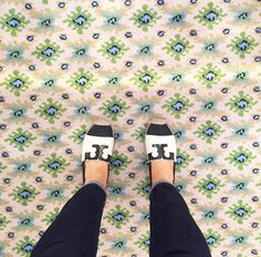 Tory Burch Espadrilles spotted on Instagram