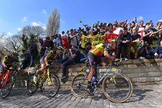 #RVV #UCIWT 101st Tour of Flanders 2017 / Men Philippe GILBERT (BEL)/ Sylvain CHAVANEL (FRA)/ KAPELMUUR / Wall of Geraardsbergen / De Muur / Antwerpen - Oudenaarde (260km)/ Men / Ronde Van Vlaanderen / Tour of Flanders / RVV /