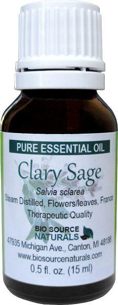 Clary Sage Pure Essential Oil - 1 fl oz (30 ml)
