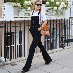O estilo minimalista e básico da blogger mais cool de Londres.
