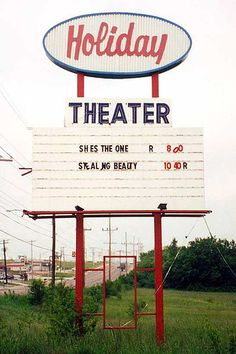 Holiday Drive-In Theater Rt. 66 Springfield, MO by Neato Coolville, via Flickr (Gone, but not Forgotten)