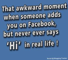 #Haha - how true has this become! #Facebook #Humour