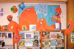 Image detail for -Sweet Reads By Lisa Stofac For this lovely display Lisa has made a giant Sweethearts candy box and put hearts with book titles all over the board. A 'Lovehearts' tube ...