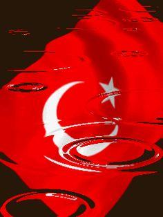 Hareketli bayrak resimleri, bayrak animasyon - islamiforumlar.net - islami forum