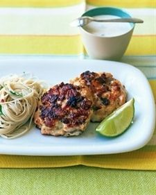 Asian Salmon Patties Recipe | Cooking | How To | Martha Stewart Recipes