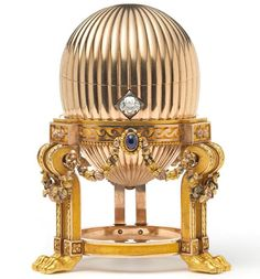 The egg was bought for £8,000 by an anonymous man who thought he could make a profit by me...