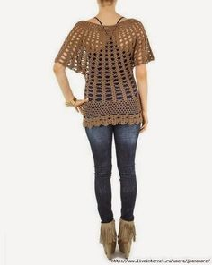 Crochet Patterns to Try: Free Crochet Pattern for Infamous Asos Tunic www.yourcontour.com #fashion #Knit #crotche #shapewear #bodyshapers