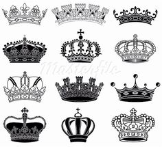Crowns that would make Awesome Tattoos