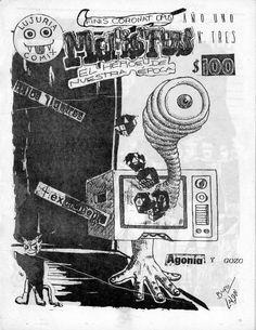 Mefistus N° 3  Tercer número del fanzine de cómics «Mefistus, El Héroe de Nuestra Epoca» editado en Valdivia en 1990  Más información en: http://bufoland.blogspot.com/2010/04/mefistus-4.html