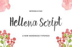 Hellena Script by QueenType on Creative Market
